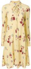 Valentino - Abito a fiori - women - Silk - 42 - Giallo & arancio