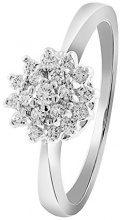 Diamond Line 14_k_(585) oro bianco palla Diamante