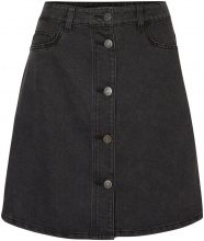 NOISY MAY Denim Skirt Women Black