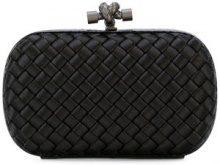 Bottega Veneta - nero Intrecciato impero knot - women - Leather/Polyester - One Size - BLACK