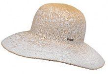 CaPO Miami Lady HAT, Cappello da Sole Donna, Weiß (Ecru 2), Taglia unica