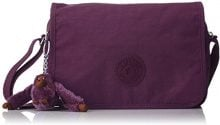Kipling Delphin N - Borse a tracolla Donna, Violett (Plum Purple), 15.5x23.5x5 cm (B x H T)