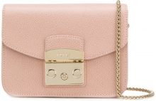 Furla - Borsa tracolla 'Metropolis' - women - Leather - One Size - PINK & PURPLE