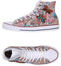 CONVERSE LIMITED EDITION CTAS HI CANVAS/LEATHER LTD - CALZATURE - Sneakers & Tennis shoes alte - su YOOX.com