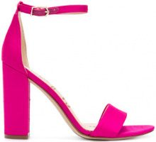Sam Edelman - Yaro heels - women - rubber/Cotton/Polyurethane - 6.5, 8, 8.5, 9.5, 10 - PINK & PURPLE