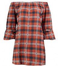 Connie Checked Shirt Dress