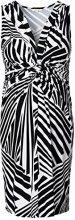 Noppies Dress sl Yara AOP-Vestito premaman  donne,    Multicolore(Black C270) M