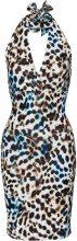 Abito leopardato (Blu) - BODYFLIRT boutique