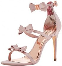 Ted Baker Nuscala, Sandali con Cinturino alla Caviglia Donna, Rosa (Light Pink #ffc0cb), 37 EU