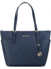 - Michael Michael Kors - Borsa tote 'Jet Set Travel' - women - pelle - Taglia Unica - di colore blu