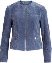 VILA Suede Jacket Women Blue