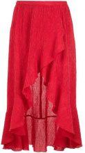 Olympiah - ruffled skirt - women - Polyester/Spandex/Elastane - 40 - RED