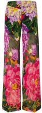 Twin-Set - Pantaloni a palazzo - women - Viscose/Polyester - 42, 44, 46, 40 - MULTICOLOUR