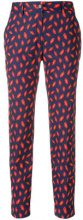 - P.A.R.O.S.H. - Pantaloni con stampa - women - Cotone - L, XS - Blu