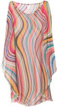Paul Smith Black Label - Vestito a righe - women - Silk - OS - MULTICOLOUR