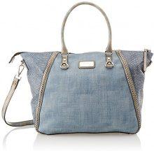 XTI 85952 - Borse a mano Donna, Blu (Jeans), 47x32x15 cm (W x H L)