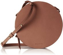 Royal RepubliQ Galax Round Evening Bag, Donna Borse a spalla, Marrone (Cognac) 5x16x16 cm (B x H x T)