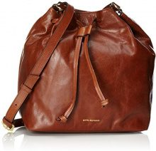 Royal RepubliQ Bucket Handbag, Donna Borse a spalla, Marrone (Cognac) 14x28x25 cm (B x H x T)