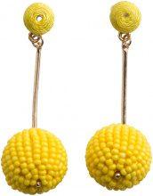 PIECES Pearl Earrings Women Yellow