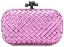 Bottega Veneta - twilight Intrecciato impero knot - women - Viscose - OS - PINK & PURPLE