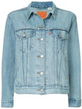 - Levi's - Trucker denim jacket - women - cotone - L, XS, M, S - di colore blu