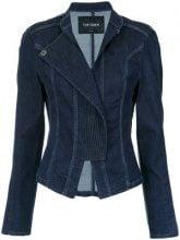 Tufi Duek - panelled denim jacket - women - Cotone/Polyester/Lyocell/Spandex/Elastane - 36, 40, 44 - BLUE
