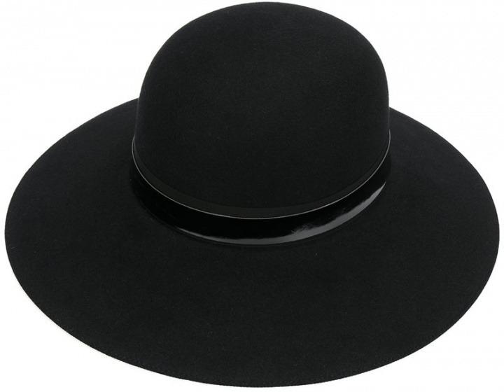 Lanvin - Cappello a falda larga - women - fibra sintetica cotone ... e46aaa24587c