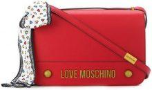 Love Moschino - Borsa a spalla - women - Polyurethane/Silk - OS - RED