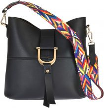 Borsa con tracolla fantasia (Nero) - bpc bonprix collection