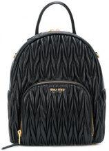 Miu Miu - Zaino - women - Leather - OS - Nero
