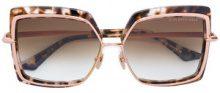 Dita Eyewear - Occhiali da sole 'Narcissus' - women - Acetate/Metal (Other) - 58 - Marrone