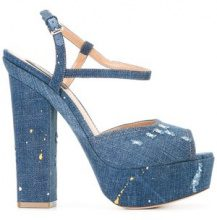 Dsquared2 - Sandali 'Ziggy' - women - Cotone/Leather - 38, 36, 37, 40 - Blu