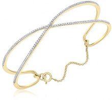 Carissima Gold Bracciale da Donna, in Oro Giallo 9K (375), con Diamante