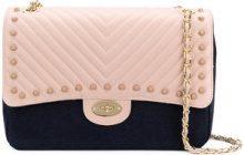 Marc Ellis - Taylor shoulder bag - women - Leather/Cotton - OS - PINK & PURPLE
