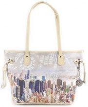 Borsette Y Not?  Borsa donna  New York Beige Manhattan H 336 in saldo-30%