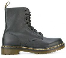 Dr. Martens - 'Pascal Virginia' boots - women - Calf Leather/Leather/rubber - 36, 37, 39, 40 - BLACK