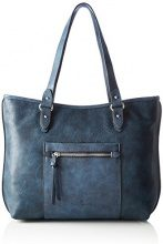 Tom Tailor Acc Miria - Borse a spalla Donna, Blau, 9x26x39 cm (L x H D)
