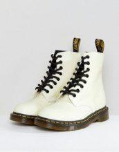 Dr Martens - Pascal - Anfibi bianchi glitterati - Bianco