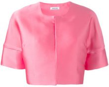 - P.A.R.O.S.H. - cropped jacket - women - seta/fibra sintetica - XXL, XXXL, M, L - di colore rosa