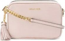 Michael Michael Kors - Ginny cross body bag - women - Leather - One Size - PINK & PURPLE
