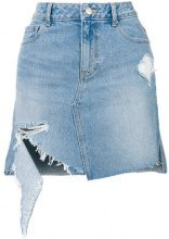 SJYP - Gonna in denim - women - Cotton - L, XS, S, M - BLUE
