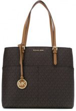 Michael Michael Kors - Bedford large tote - women - Cotton/Polyester/PVC - One Size - BLUE