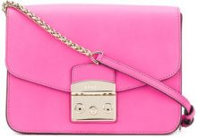 Furla - Borsa a spalla 'Metropolis' - women - Leather - OS - PINK & PURPLE