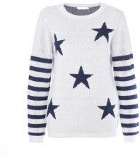 Pullover a maglia con stelle & strisce