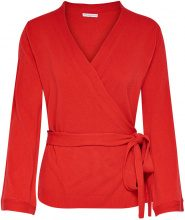 ONLY Detailed Knitted Cardigan Women Red