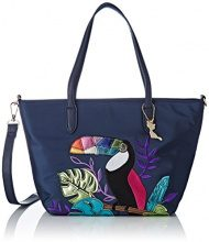 Lollipops Betalika Bag - Borse a spalla Donna, Blu (Navy), 13x22x34 cm (W x H L)