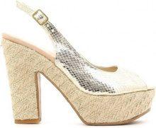 Sandali Grace Shoes  CO03T Sandalo tacco Donna Oro