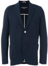 Circolo 1901 - Blazer classico - men - Cotton/Spandex/Elastane/Acetate/Viscose - 48 - BLUE