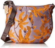 Oilily Groovy Shoulderbag Lhz - Borse a tracolla Donna, Orange, 12x32x36 cm (B x H T)