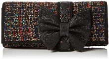 Irregular Choice Cookies & Cream Clutch - Pochette da giorno Donna, Black (Black Multi), 5x14x30 cm (W x H L)